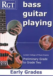 Alerte Rgt Bass Guitar Playing Early Grades Prélimin - 2 Lcm *-afficher Le Titre D'origine