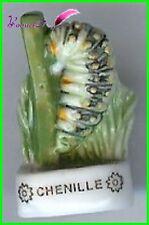"Feve Les Insectes  Edition Atlas "" La Chenille "" Caterpillar #C39"