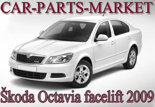 For Skoda Octavia 09-12 Right Driver side wing mirror glass