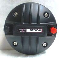 B&c De500-8 1 Neo Titanium Horn Driver 8 Ohm 2/3-bolt