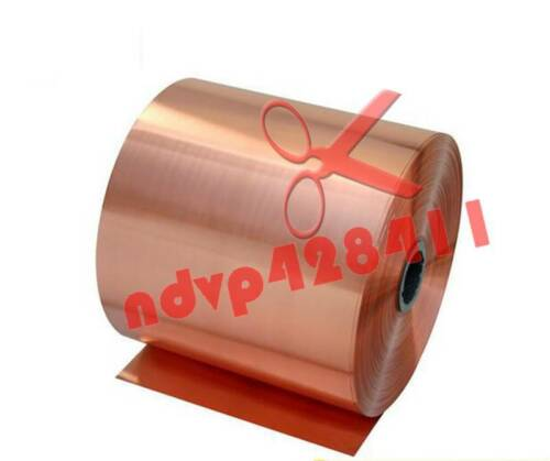 1PCS 99.9/% Pure Copper Cu Metal Sheet Foil 0.4 x 100 x 1000mm