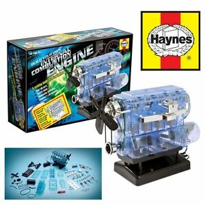 HAYNES-INTERNAL-COMBUSTION-ENGINE-MODEL-KIT-BUILD-YOUR-OWN-WITH-SOUNDS-amp-LIGHTS