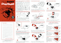 Giant Creepy Crawlers Instruction Sheet For A Mattel Thingmaker