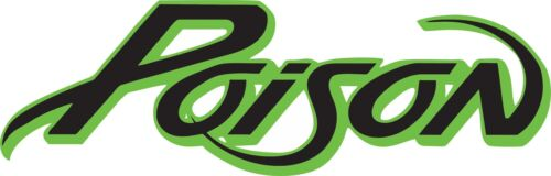 Poison logo full color indoor//outdoor Band Vinyl Sticker Decal