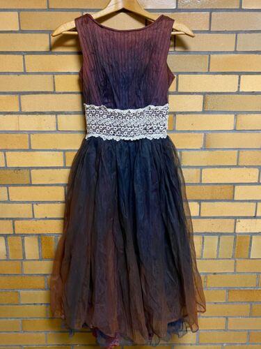 Vintage Handmade Formal Dress Prom Dance Dress Rus
