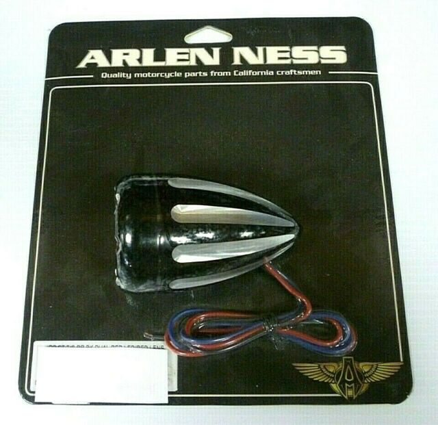 Deep Cut Turn Signals with Fire Ring LED Arlen Ness 12-765
