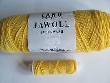 Sock knitting wool. 75% new wool 25% nylon. Free reinforcement yarn. Yellow 43