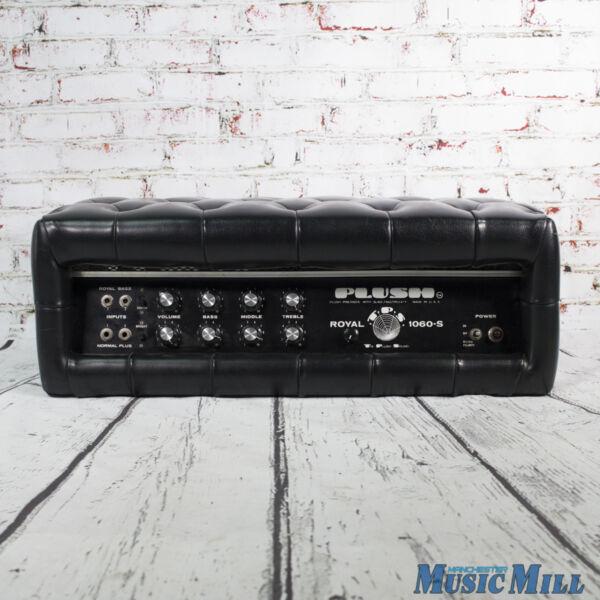 vintage 39 70s plush royal 1060 s tube guitar amp head for sale online ebay. Black Bedroom Furniture Sets. Home Design Ideas