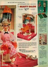 1974 ADVERTISEMENT 6 Pg Barbie Ken Skis ATC Cycle Beach Bus Malibu Flight Pool