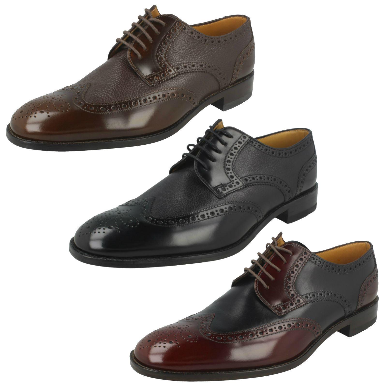 Billig gute Qualität Mens Loake Brogue Shoes Arlington