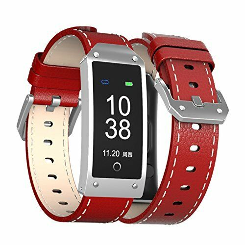 Y1R Blood Oxygen Pressure Heart Rate Monitor Pedometer Smart Watch Band Bracelet