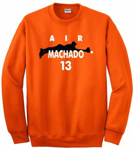 "Manny Machado Baltimore Orioles /""Air Machado/"" Hooded SWEATSHIRT HOODIE"