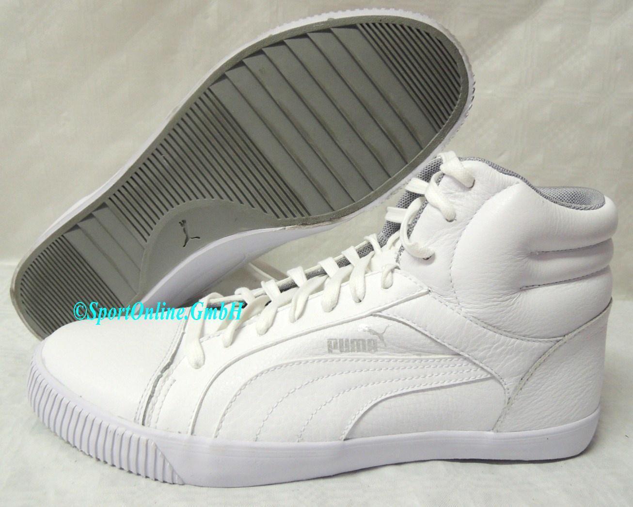 NEU Puma Street Jump Mid Schuhe Hiker 44,5 Herren Leder Schuhe Mid Boots Sneaker 354054-03 6bf0e9
