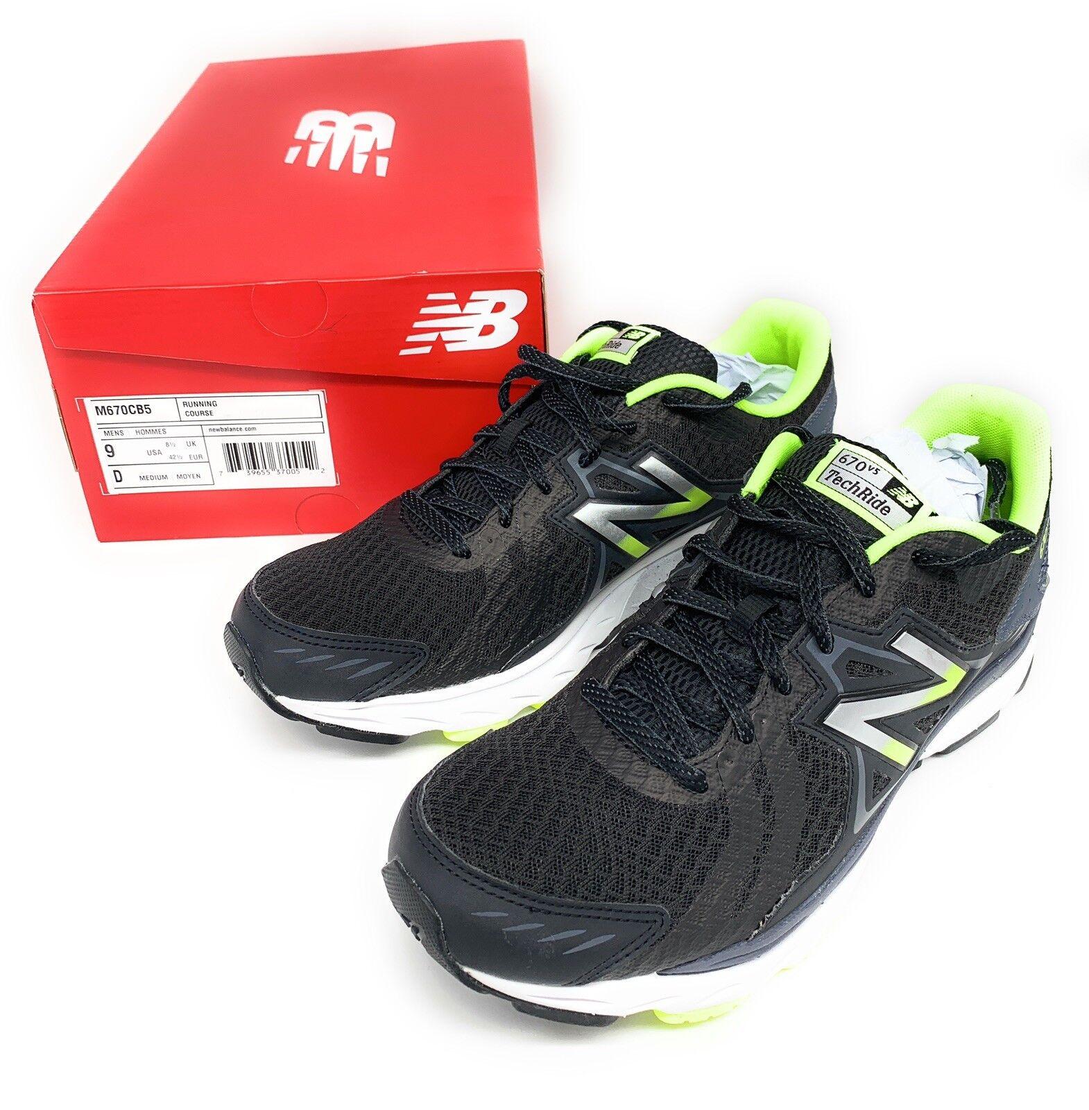 New Balance Men's Athletic Running shoes M670CB5 TechRide 670v5 Size 9 Medium