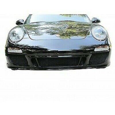Disinteressato Zunsport Nero Calandra Anteriore Set Per Porsche Carrera 997.2 Gts 2009-11 Ottima Qualità