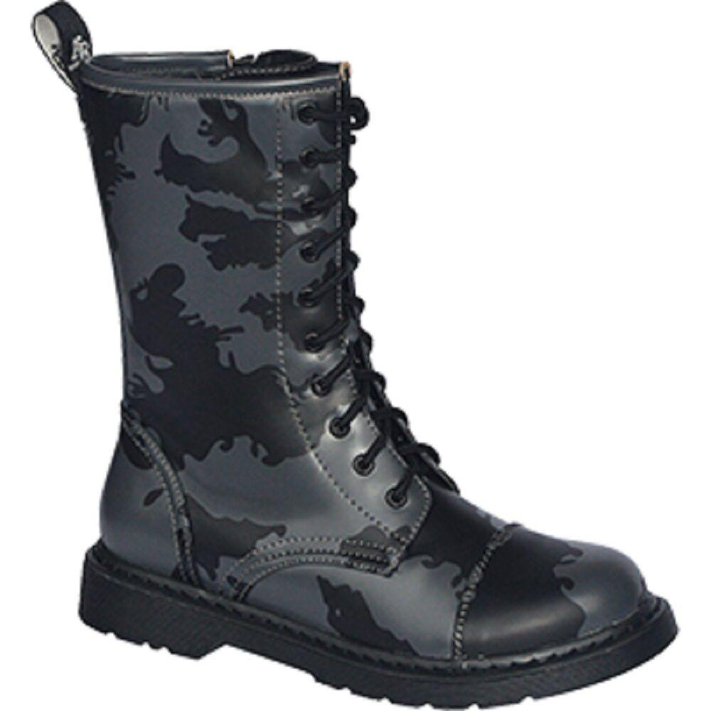 10 Trou Bottes Royaume-Uni 37 38 39 40 41 42 43 44 45 46 Russe Nuit Camouflage