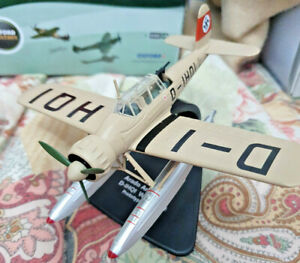 Arado-Ar-196-A-0-D-IHQI-W-Nr-2590-Scala-1-72-Die-Cast-Oxford-Aviation