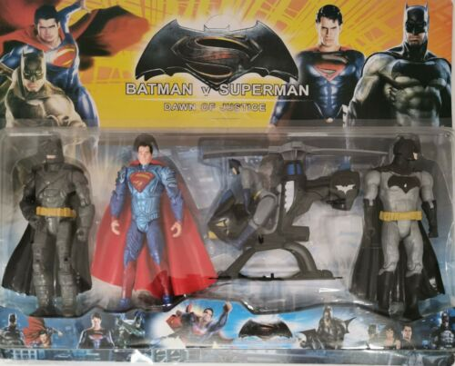 Batman v Superman Dawn of Justice Deluxe 4 Figure Pack