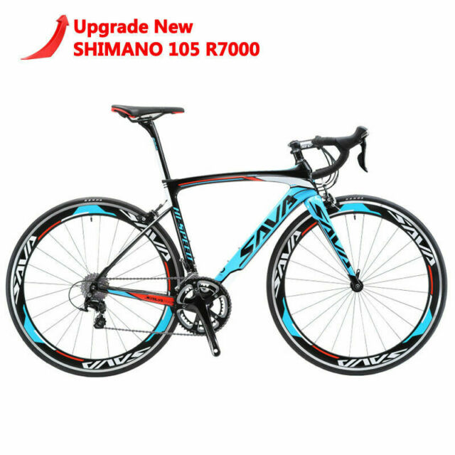 Carbon Fiber Frame Bikes For Sale Ebay >> Sava 700c Road Bike T800 Carbon Fiber Frame 22s Cycling Bicycle Shimano 105 5800