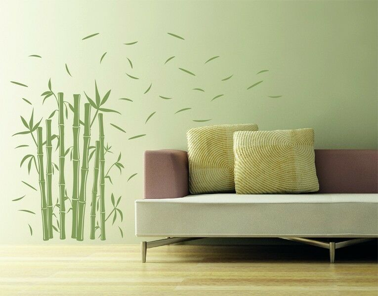 Bambù - Massima Qualità Sticker Adesivi Murali Decal