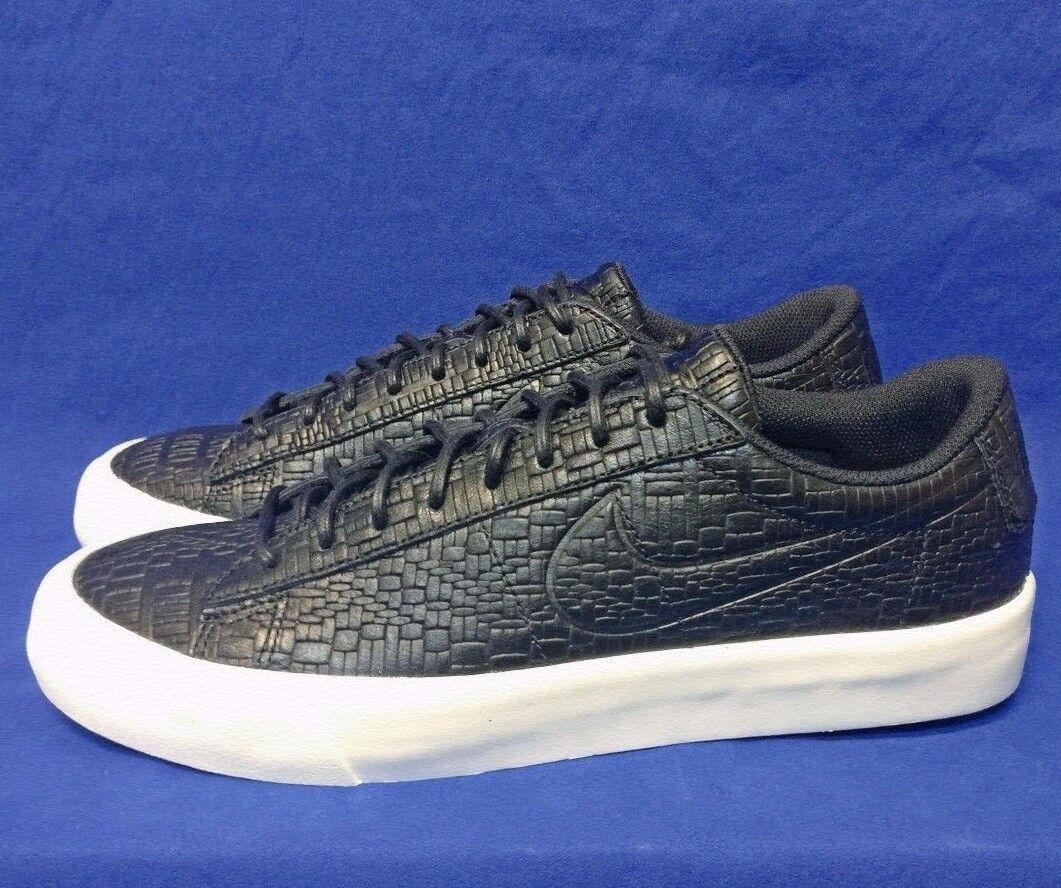 Nike Blazer Studio Low Nikelab Black Croc Sz 9.5