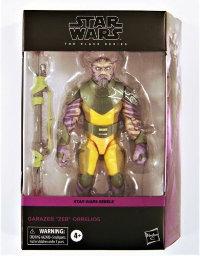 "Star Wars The Black Series /""REBELS/"" Zeb Orrelios 6/"" Action Figure"