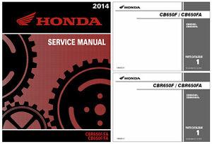 honda cbr650 cb650 f fa service workshop repair manual 2014 2015 rh m ebay co uk honda cbr650f service manual pdf 2016 honda cbr650f owners manual