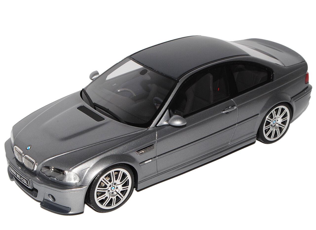 BMW 3er M3 E46 CSL CSL CSL M-Felgen Coupe grey 1998-2007 Nr 177B 1 18 Otto Modell Auto.. 64659f