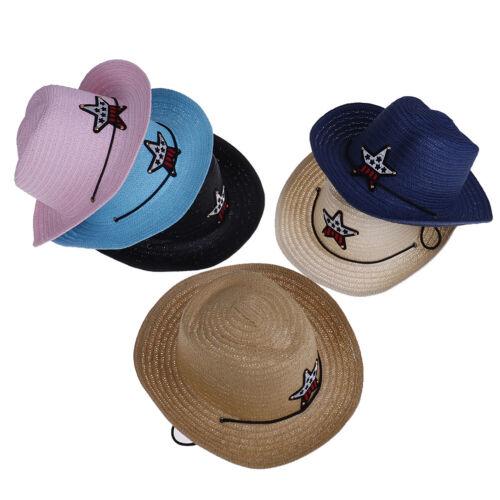 Kids boys girls cowboy summer breathable hat straw sun hat children hats x!