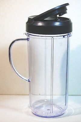 1-MAGIC BULLET 22 oz On-The-Go Mug 1 Flip Top Lid!!