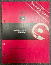 John Deere 8850 Tractor Operator Manual Om Rw16848 L1 Q 5
