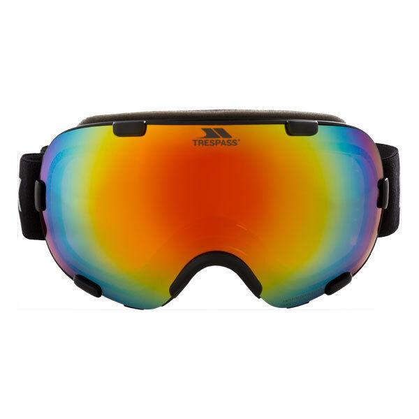 Trespass Elba DLX Matt Iridescent Ski Goggles Mirrored Dual Lens Anti-fog