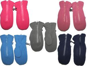 ♦NEU♦ warm haltender Fleecehandschu<wbr/>h mit Zipper von ~ MAXIMO ~ Farb & Gr.Wahl