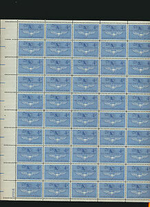 Naval-Aviation-1185-50th-Anniversary-1961-MINT-NH-SHEET-of-50-Military-Stamps