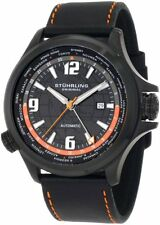 Stuhrling Original Men's 285L 3355101 Traveler Now Voyager World Time Watch