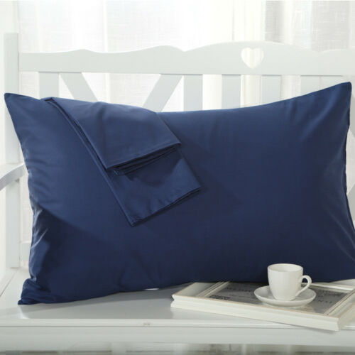 sho 100/% Cotton Cushion Covers 1PC//2Pcs Covers Pillow Cases Standard All Size N