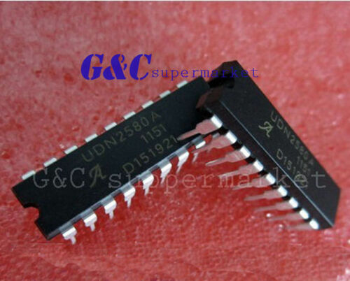 50PCS UDN2580A UDN2580A-T DIP18 IC Channel Source Drivers NEW GOOD QUALITY D7