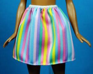 Barbie  Fashionistas Green Black Animal Print Skirt  CURVY TALL PETITE REGULAR