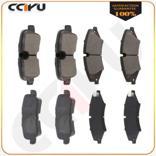 For Land Rover LR4 2010 2011 2012 Front and Rear Low Dust Ceramic Brake Pads Kit