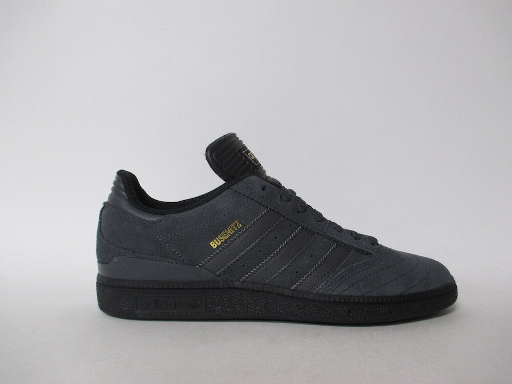 Adidas Busenitz Charcoal Black gold Sz 10 B22768