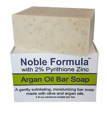Noble Formula 2% Pyrithione Zinc (ZnP) Bar Soap w/ Argan Oil 3.25 oz Eczema