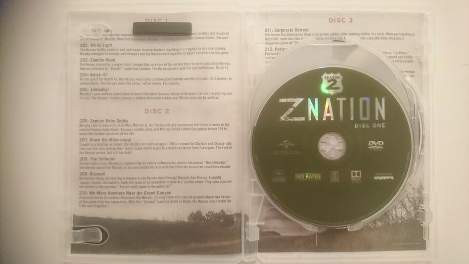 Z NATION - Join The Mission - Season 2, DVD, action
