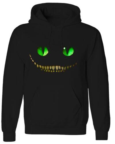 Cheshire Cat Smile Face Alice Wonderland Disney Halloween Sweater Hoddie HOD003