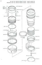 Minolta Af Tele Zoom APO 80-200mm f4.5-5.6 Manual de reparación de servicio