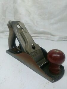 Vintage-Great-Neck-G-4-Woodworking-Wood-Plane-Tool-Antique-9-5-034-Long-Old-Retro