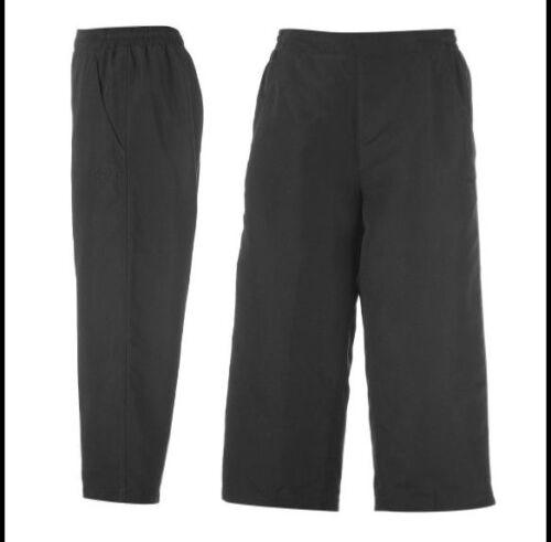 Bermuda Neri 3//4 pantaloni di la GEAR dimensioni 8 XS NERO CASUAL