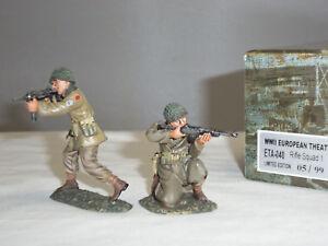 Figarti Eta040 Armée de carabines de l'armée britannique, soldat de jouets en métal, deuxième guerre mondiale