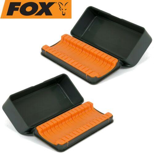 Tacklebox Haken 2 Angelboxen für Karpfenhaken Fox F box hook storage case XL
