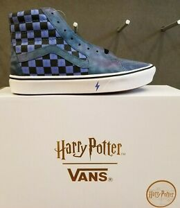 Details about NEW IN THE BOX VANS X HARRY POTTER LIMITED EDITION COMFYCUSH SK8 HI SHOE FOR MEN