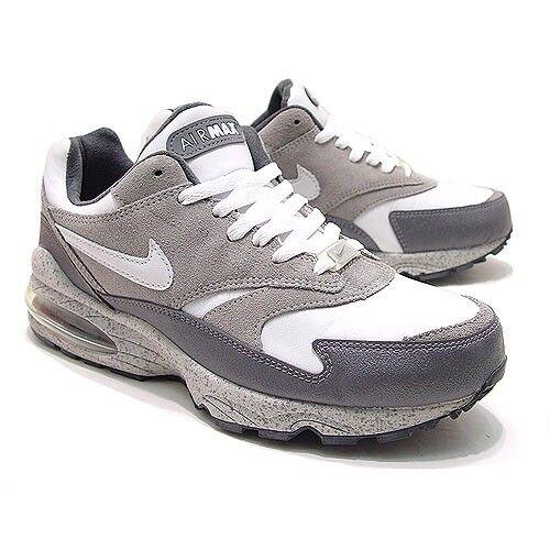 Nike air max burst grigio / bianco / grafite (305608-011) di us 8 - nuovo di (305608-011) zecca! 5bda55